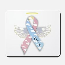 Winged CDH Awareness Ribbon Mousepad