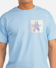 Winged CDH Awareness Ribbon T-Shirt