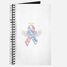 Winged CDH Awareness Ribbon Journal