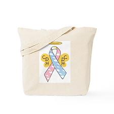 Kids Winged CDH Awareness Ribbon Tote Bag
