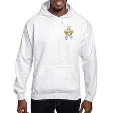 Kids Winged CDH Awareness Ribbon Hoodie