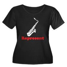 Saxophone Represent T