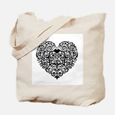 Heart Roots Tote Bag