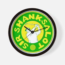 Sir Shanksalot Wall Clock