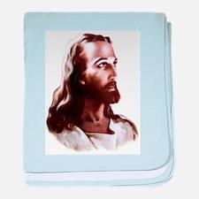 Jesus baby blanket