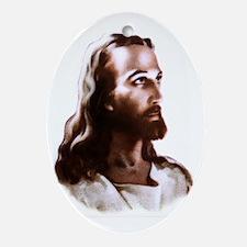 Jesus Ornament (Oval)