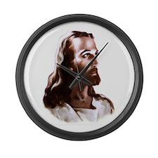 Jesus Large Wall Clock