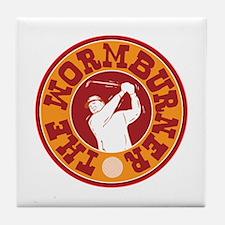 The Wormburner Tile Coaster
