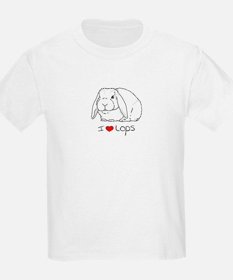 I Love Lops 2 Kids T-Shirt