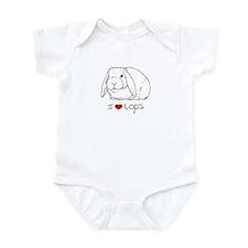 I Love Lops 2 Infant Creeper
