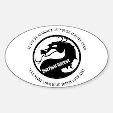 Dragon II Sticker (Oval)