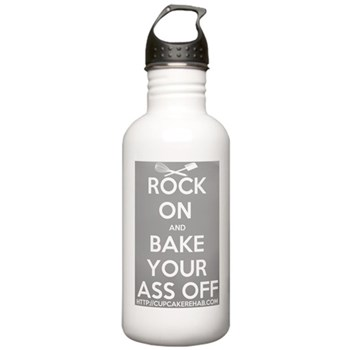 """""""Rock on..."""" Stainless Water Bottle 1.0L"""