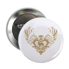 "Samoyed 2.25"" Button"