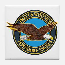 P&W1 Tile Coaster