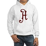 A is for Atheist Hooded Sweatshirt