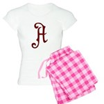 A is for Atheist Women's Light Pajamas