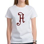 A is for Atheist Women's T-Shirt