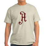 A is for Atheist Light T-Shirt