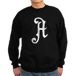 A is for Atheist Sweatshirt (dark)