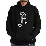 A is for Atheist Hoodie (dark)