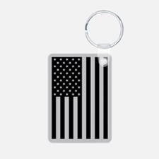 Subdued US Flag Tactical Keychains