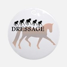 -dressage- Ornament (Round)
