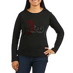 Atheist Insignia Women's Long Sleeve Dark T-Shirt