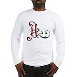 Atheist Insignia Long Sleeve T-Shirt