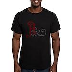 Atheist Insignia Men's Fitted T-Shirt (dark)