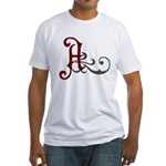 Atheist Insignia Fitted T-Shirt