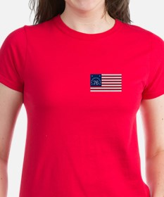 Bennington Flag Women's T-Shirt (Dark)