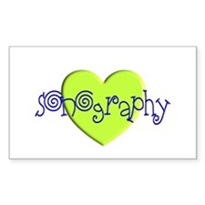 Sonographer Decal
