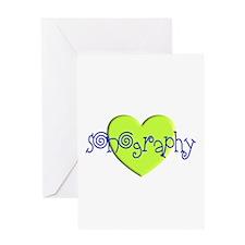 Sonographer Greeting Card