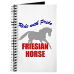 Ride With Pride Friesian Horse Journal