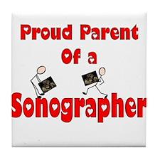 Sonographer Tile Coaster