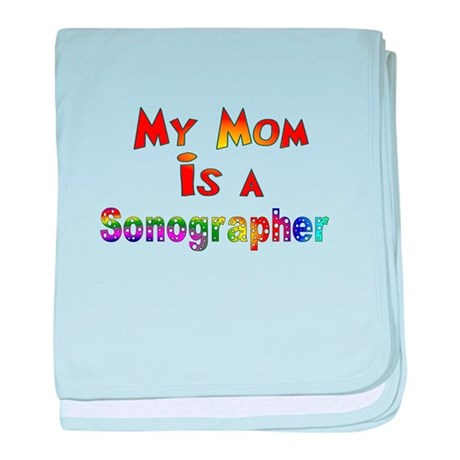 Sonographer baby blanket