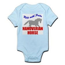 Ride With Pride Hanoverian Horse Infant Creeper