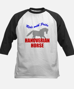Ride With Pride Hanoverian Horse Tee