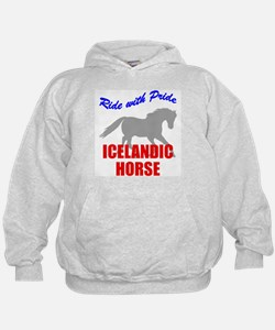 Ride With Pride Icelandic Horse Hoody