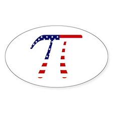 American Pi Decal