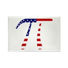 American Pi Rectangle Magnet