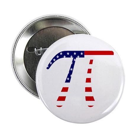 """American Pi 2.25"""" Button"""