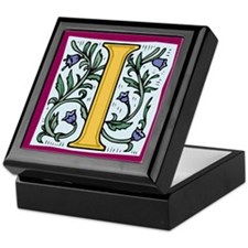 "Garden ""I"" in Gold Keepsake Box"