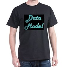 """Data Model"" Black T-Shirt"