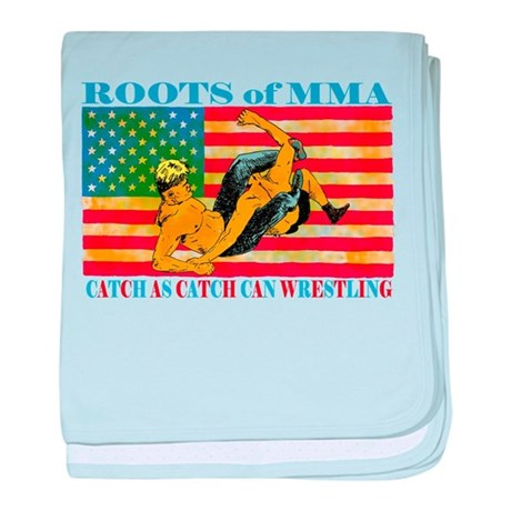 Roots of MMA baby blanket