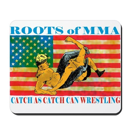 Roots of MMA Mousepad