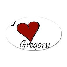 I love Gregory 22x14 Oval Wall Peel