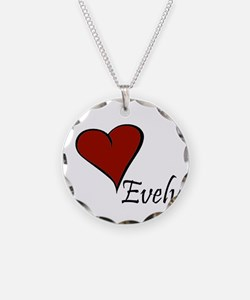 I love Evelyn Necklace