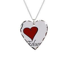 I love Eduardo Necklace Heart Charm