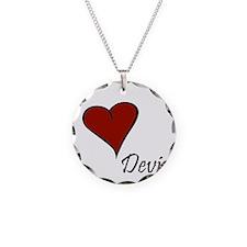 I love Devin Necklace